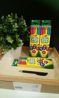[FreeMail] Crayola Silly Scents Colored Pencil $8