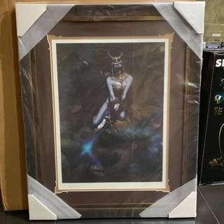 Sideshow Art Print Kier: Call of the Forsaken Valkyrie FRAMED