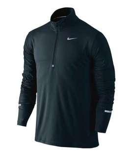 Nike dri-fit long sleeve 1/2 zip