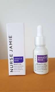Nurse Jamie Miracle Base Beauty Oil 14.6ml Brand New