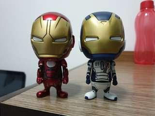 Hot toys cosbaby Iron man