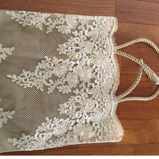 Women Lace Tote Bag