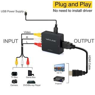 rca to hdmi converter | Everything Else | Carousell Singapore