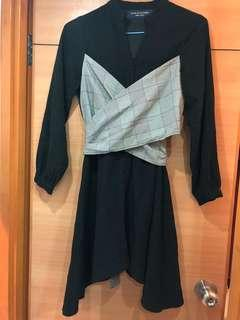 Korea women dress 95% new free size
