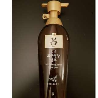 [Ryo] Hair Strengthener Shampoo Rinse (500ml)