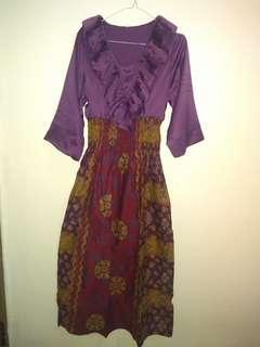 Gamis Batik