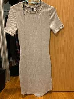 🚚 H&M Grey Dress