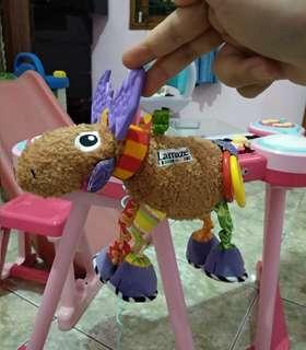 Lamaze deer baby crib toy hanging mainan gantung stroller carseat playgro mothercare elc fisherprice vtech leapfrog boneka doll little tikes rattle teether ratle
