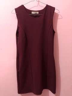 Dress maroon (red)
