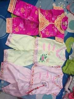 Cheong Sam Shirt and Pants