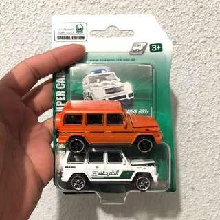 Majorette Mercedes G Wagon Pair