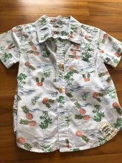 🚚 Patch Pumpkin Pineapple Boys Shirt 12-18 Months