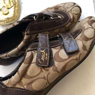 Preloved Coach Sneakers Shoes Size 6.5 Gucci Zara Aldo LV Louis Vuitton