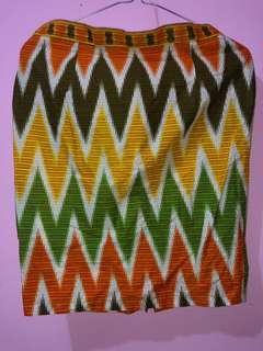 Rok mini batik