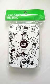 🚚 Line Friends Tin Box