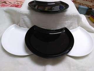 🚚 (全新)黑白裝飾盤
