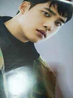 OFFICIAL D.O POSTER + GROUP POSTER