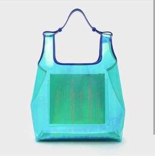 Charles n keith(original) transparant bag - NEGO (PO Max.7hari)