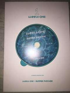 Wanna one summer package making dvd #MY1212