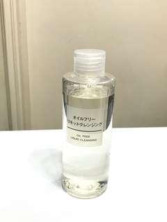 MUJI liquid cleansing