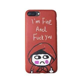 🚚 I'm Fine And F*ck You Phone Case