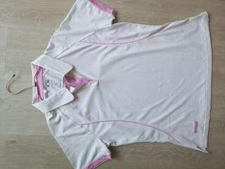 🚚 Adidas Tennis White and Pink XL