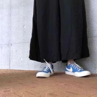 🚚 NIKE 藍色帆布鞋 vintage 復古款式