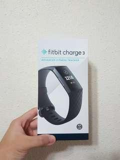 [Free registered mail] Fitbit Charge 3 Fitness Activity Tracker, Black