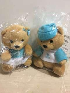Singapore Airlines Limited Edition Couple Bear