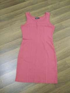 Bossini Red Dress 7 years old