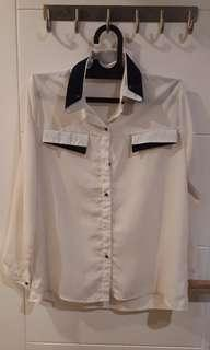 White Sailor Shirt