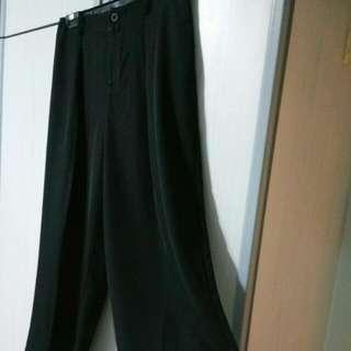 Black Palazzo Pants, Iora L Size, Includes Mailing