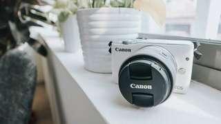 Canon EOS M10 white