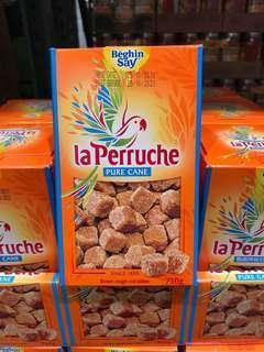 🚚 Costco好市多 LA PERRUCHE 法國鸚鵡琥珀紅糖 750g 蔗糖 黑糖 焦糖
