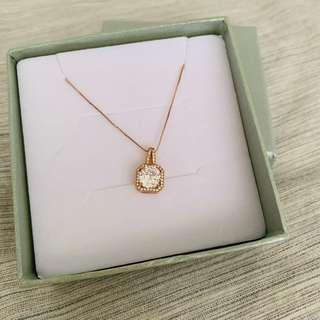 🚚 Chomel rose gold necklace