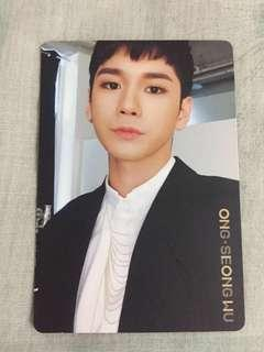 I PROMISE YOU photocard Ong Seongwu #MY1212