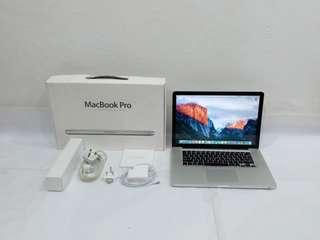 MacBook Pro 15 Core i5 @ 2.53GHz, 4GB DDR3 Ram, 500GB SSD, NVIDIA GeForce GT 330M, 15.4 inch LED backlit display, Complete set with box
