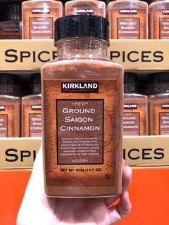 🚚 Costco好市多 KIRKLAND 科克蘭 肉桂粉 303g ground cinnamon