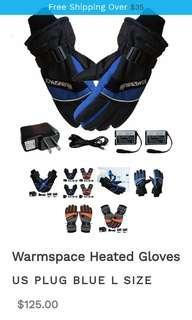 🚚 Warmspace heating gloves
