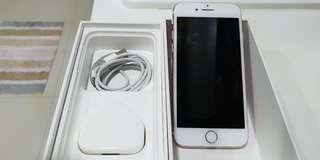 iPhone 7 Rose Gold 128GB, free Creative Bluetooth earpiece