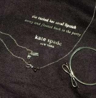 SET KATE SPADE Bangle and Necklace