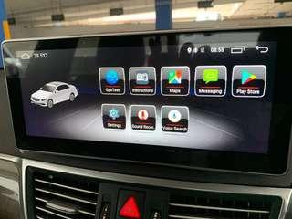 Mercedes Benz Android Screen