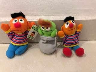 Brand new Sesame Street mini beanie pals