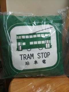 香港電車 x順豐 cushion 咕𠱸 墊 懷舊香港 tram