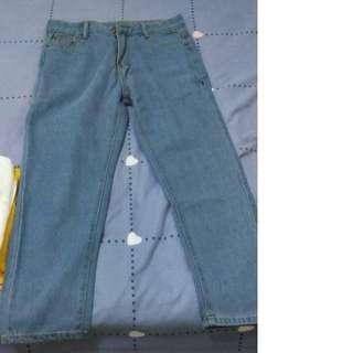 BNIP Simple Long Jeans