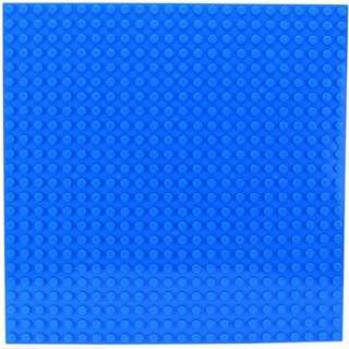 🚚 Duplo Compatible Baseplate Blue 38.4x38.4cm 24x24 dots *Free Minifigurines with Purchase