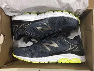 New Balance running shoes (black/grey)