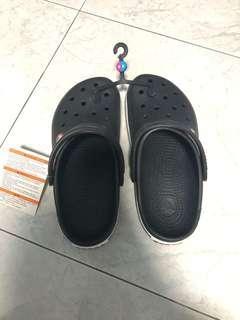Crocs sandal (new, size W8, M6)