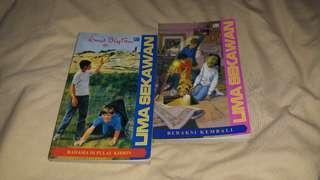 Novel Lima Sekawan by Enid Blyton
