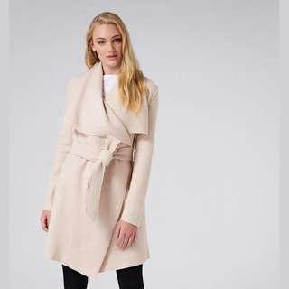 ForeverNew waterfall coat black and nude - 10